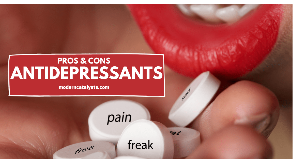 Pros and Cons of Antidepressant Medicine