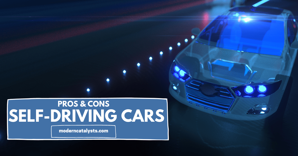 pros cons self-driving cars