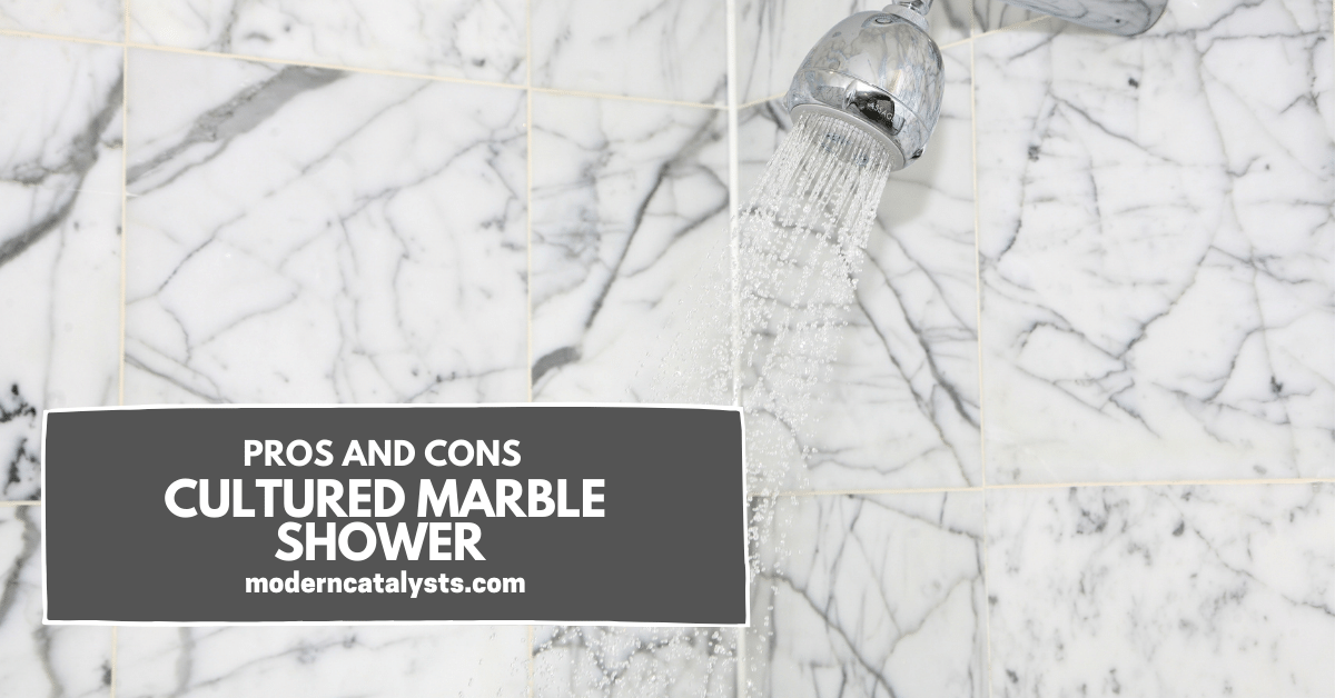 pros and cons Cultured Marble Shower