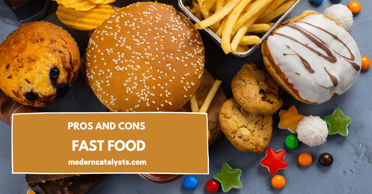 pros and cons Fast Food