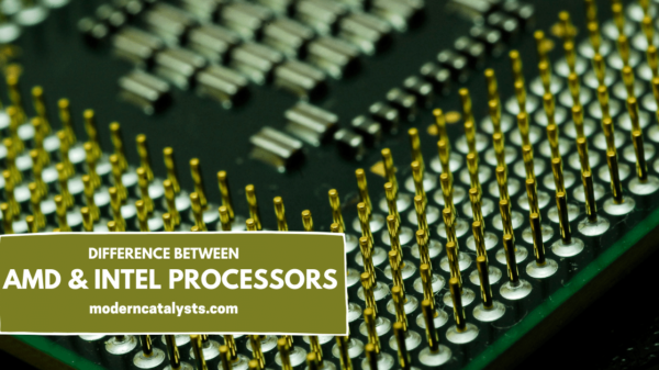 difference amd and intel processor