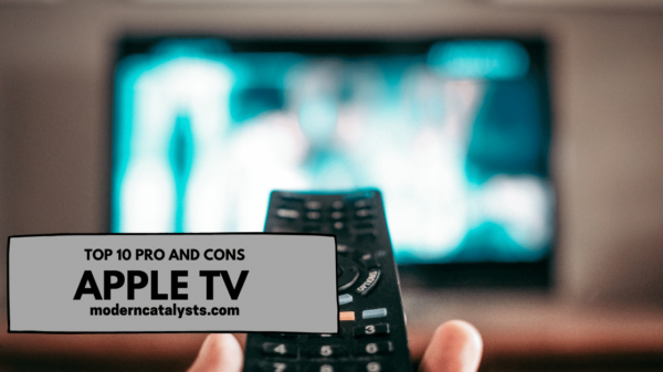 top pros and cons of apple tv