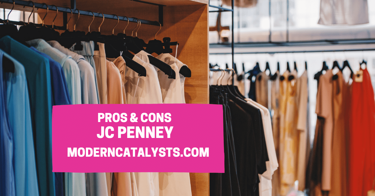 pros cons JC Penney