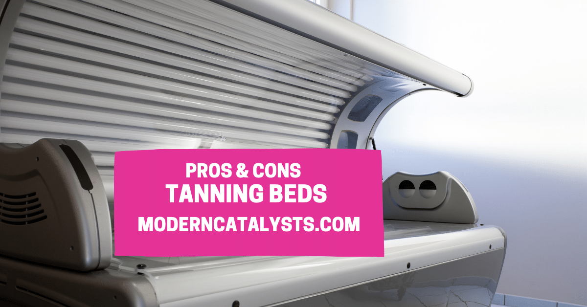 pros cons Tanning Beds