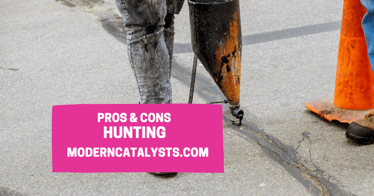 pros cons hunting